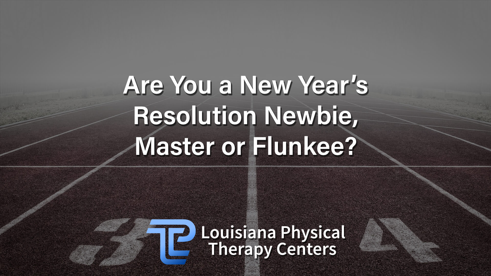 Are You a New Year's Resolution Newbie, Master or Flunkee