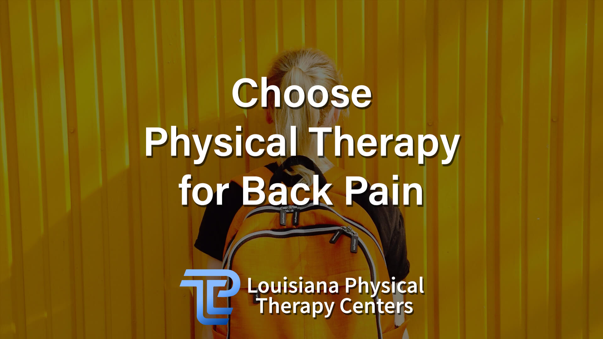 Choose Physical Therapy for Back Pain