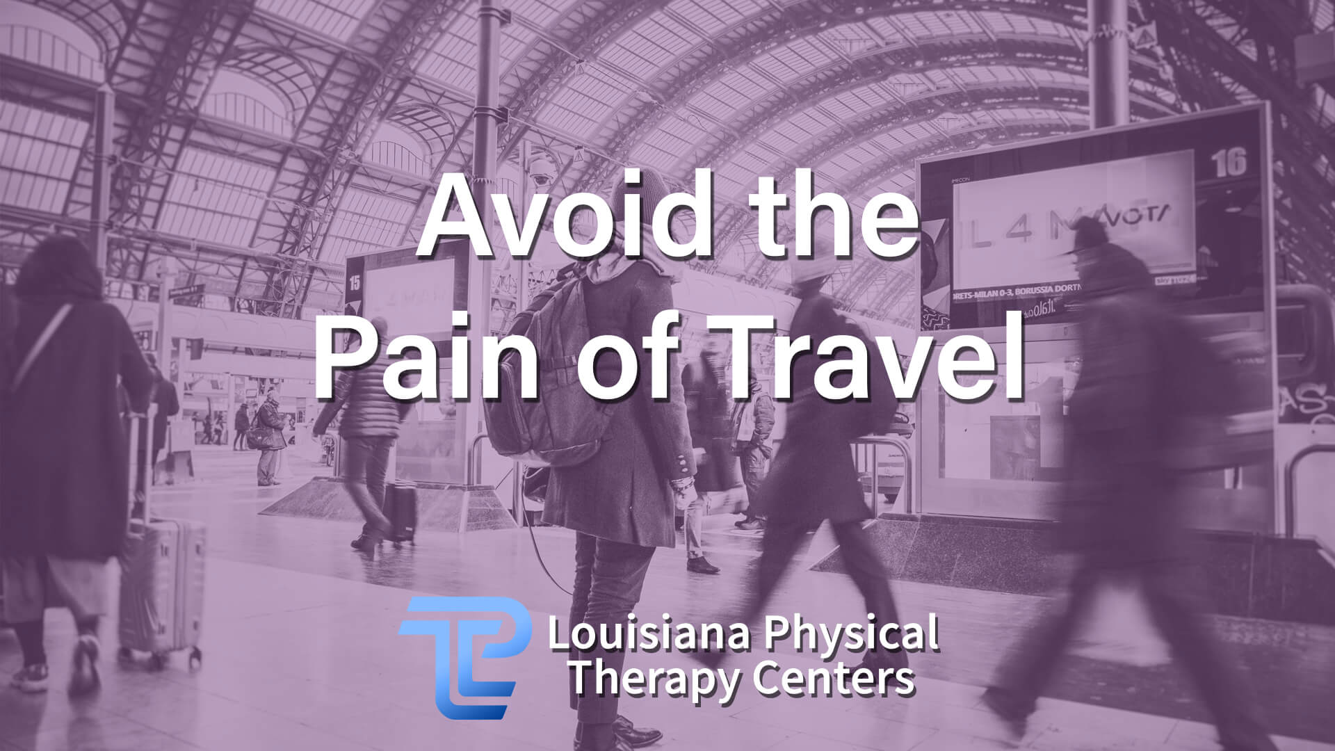 Avoid the Pain of Travel